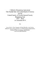 FSU 2013-16 CBA 2014 Reopener